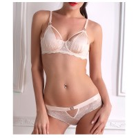 2017 NEW design bra set B C D women's underwear set lace bras and briefs set sexy lingerie France Brand High quality brassiere