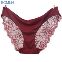 2017 New arrival ECMLN women'slace panties seamless panty briefs underwear intimates