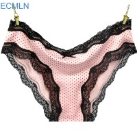 Casual Lady's Women's Multicolored Cotton Pleated Hem Panties Underwear Knickers Wholesale 2017 hot sale and fashion XK