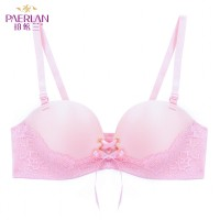 PAERLAN Seamless Small breasts Push Up sexy belt pull B female Bra dress lace Convertible Straps smooth underwear Bra Strapless